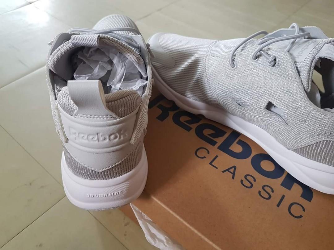 96588d40572 REEBOK CLASSIC FURYLITE (Color grey) BRAND NEW Size US  9 1 2 EUR ...