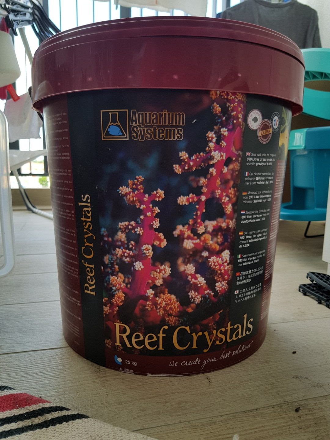 salt mix reef crystal pet supplies for fish fish tank