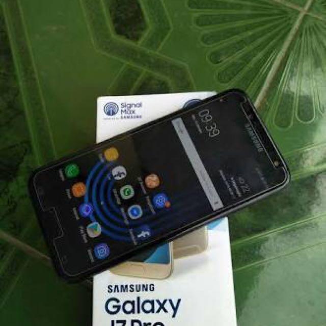 Samsung J7 Pro Repost Nettt Telepon Seluler Tablet Di Carousell