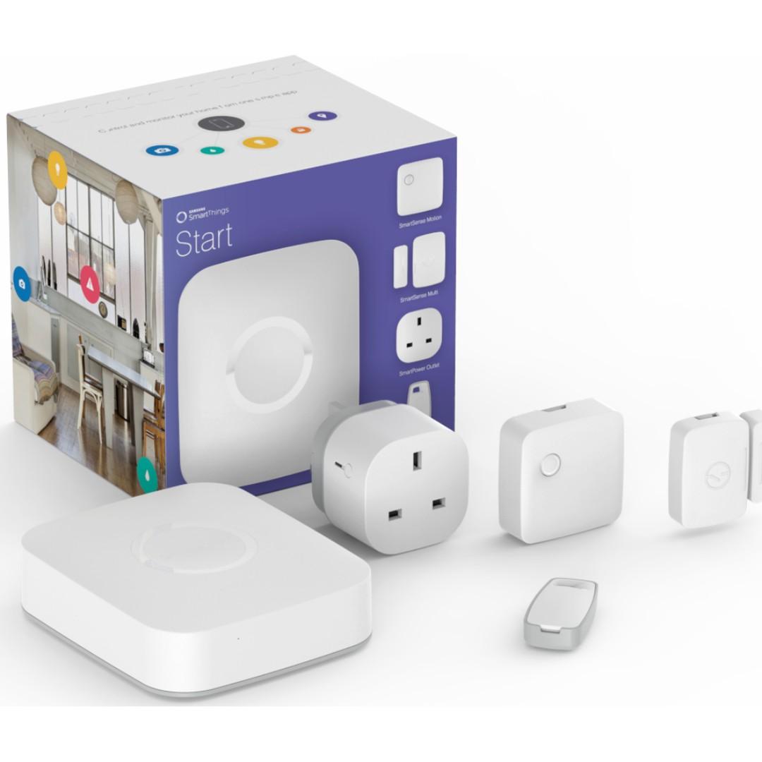 Samsung Smartthings Hub Smart Home Starter Kit Uk Version