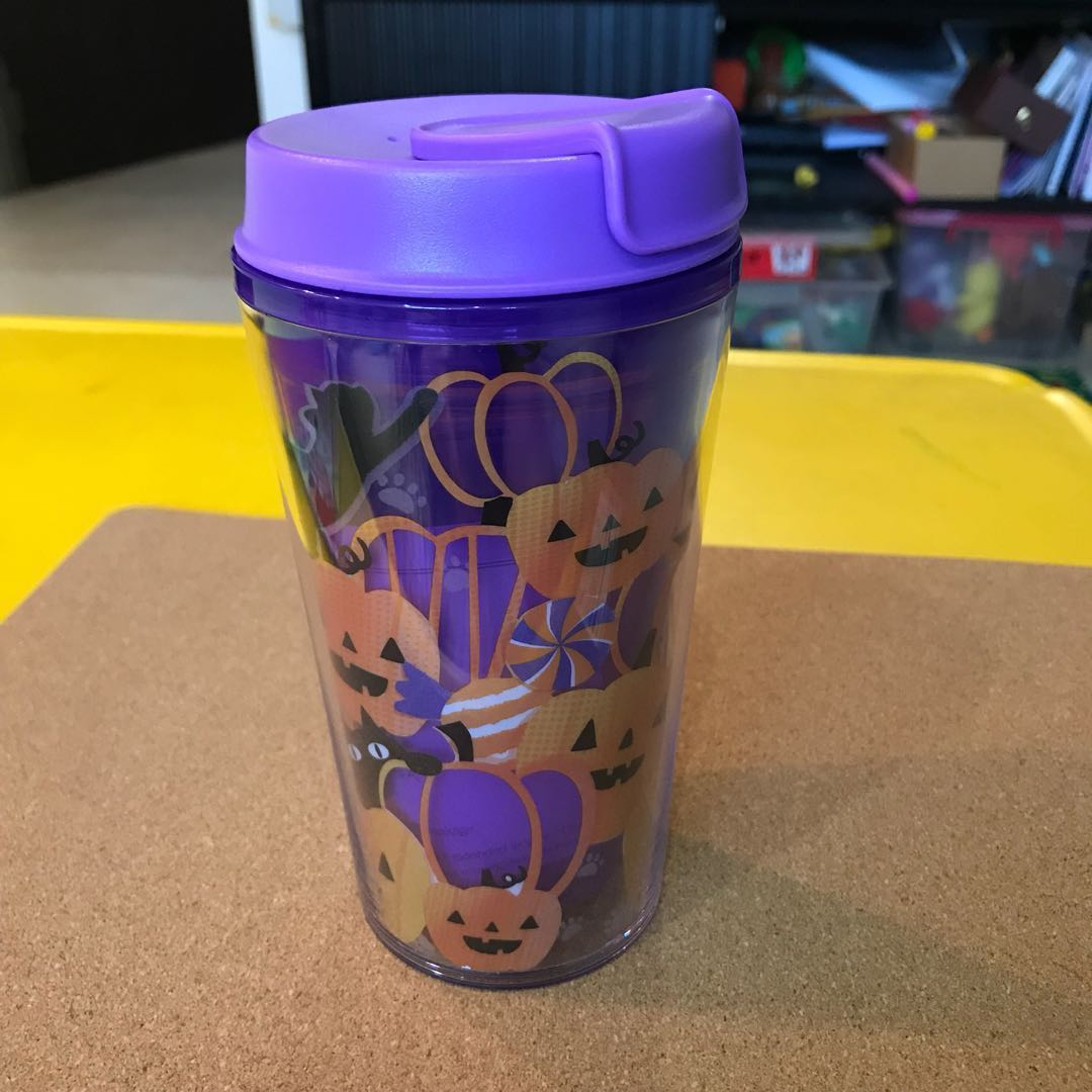 singapore starbucks purple halloween tumbler, home appliances