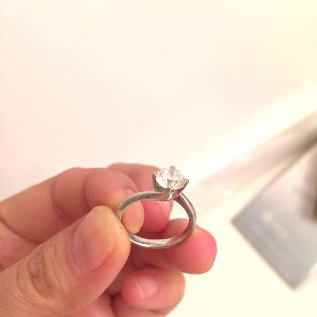 1 Carat Solitaire Diamond Ring Solitaire Ring Diamond 1 vmN0w8n