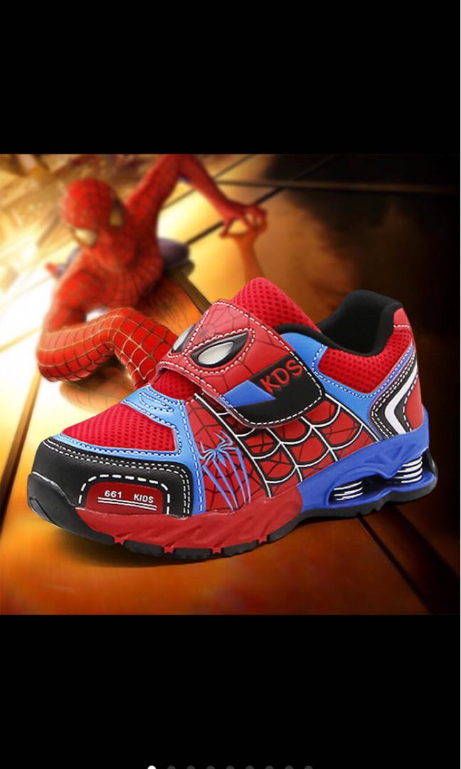 a1c5939cb7f0d Spiderman boy kid sport shoes toddler