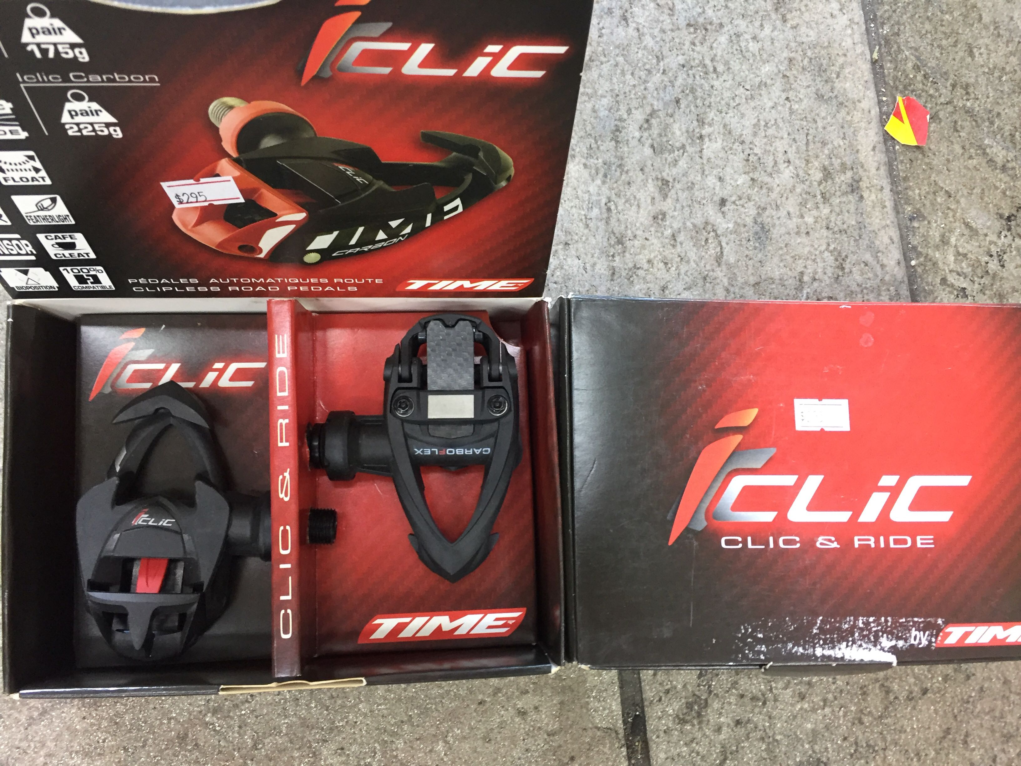 49c13bf665f2 TIME ICLIC ROAD PEDAL, Bicycles & PMDs, Bicycles, Road Bikes on ...