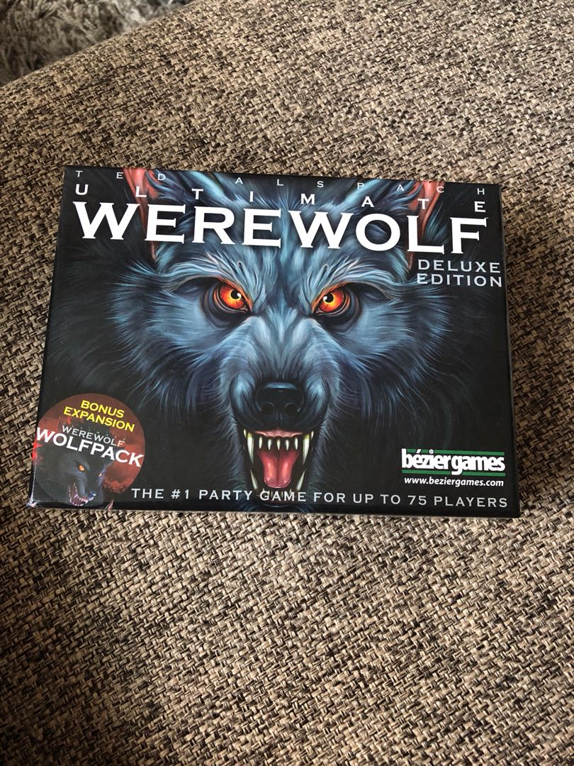 Ultimate werewolf card game, Toys & Games, Board Games