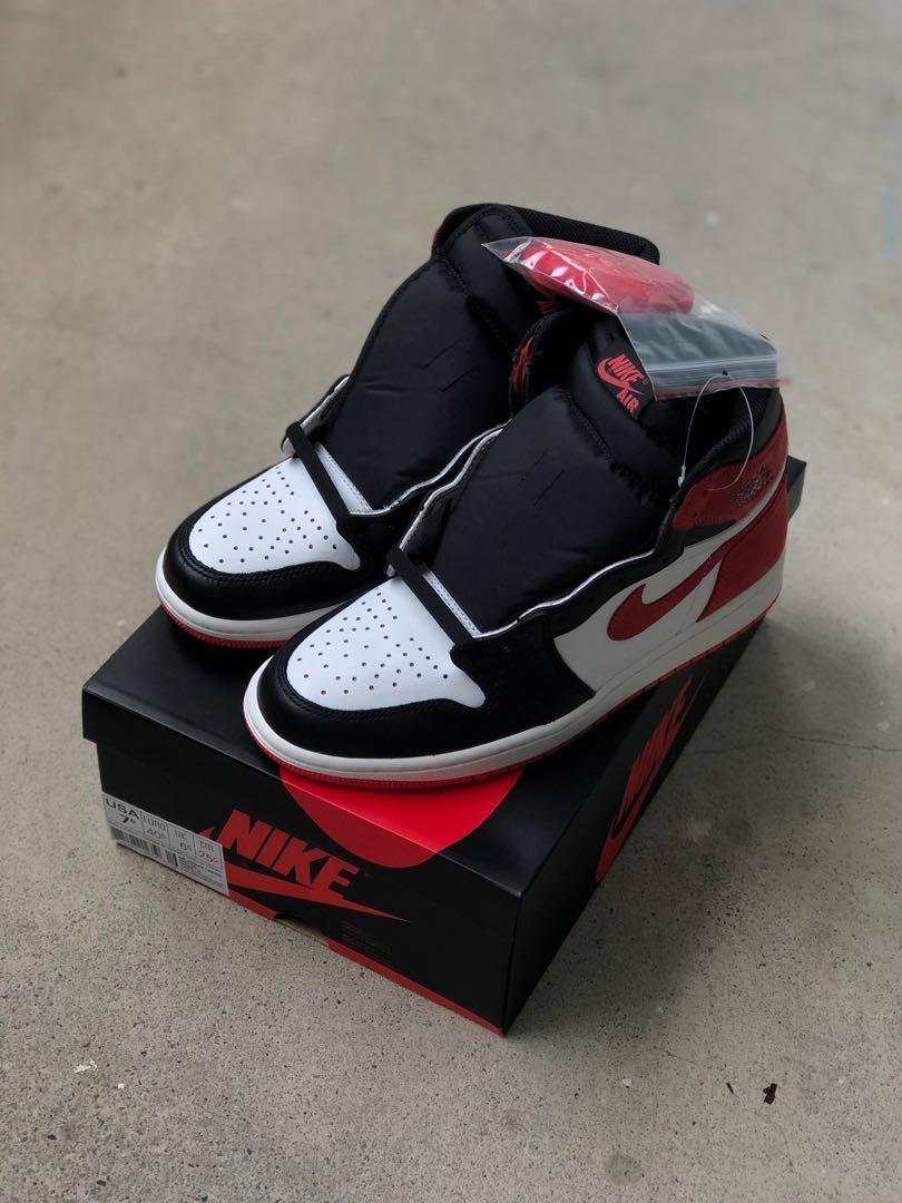 "ceb526d09349c4 US7.5 Nike Air Jordan Retro High OG Track Red ""Best Hand In The Game ..."
