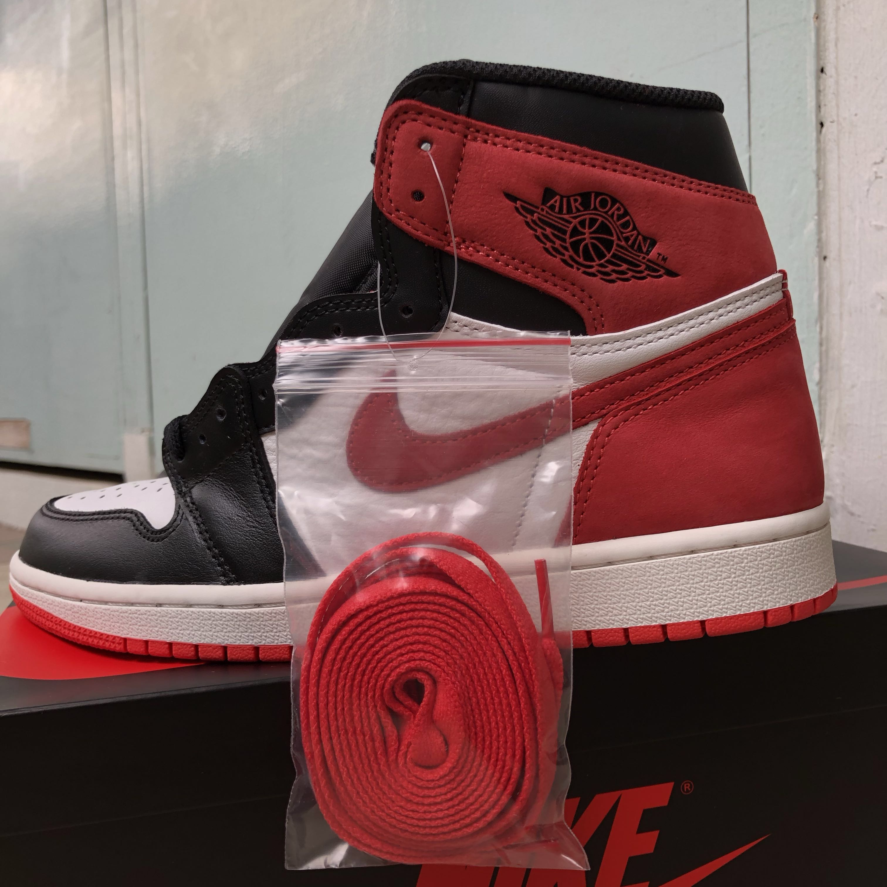 """d18391a2dd3 US7.5 Nike Air Jordan Retro High OG Track Red """"Best Hand In The Game"""" Six  Rings, Men's Fashion, Footwear, Sneakers on Carousell"""
