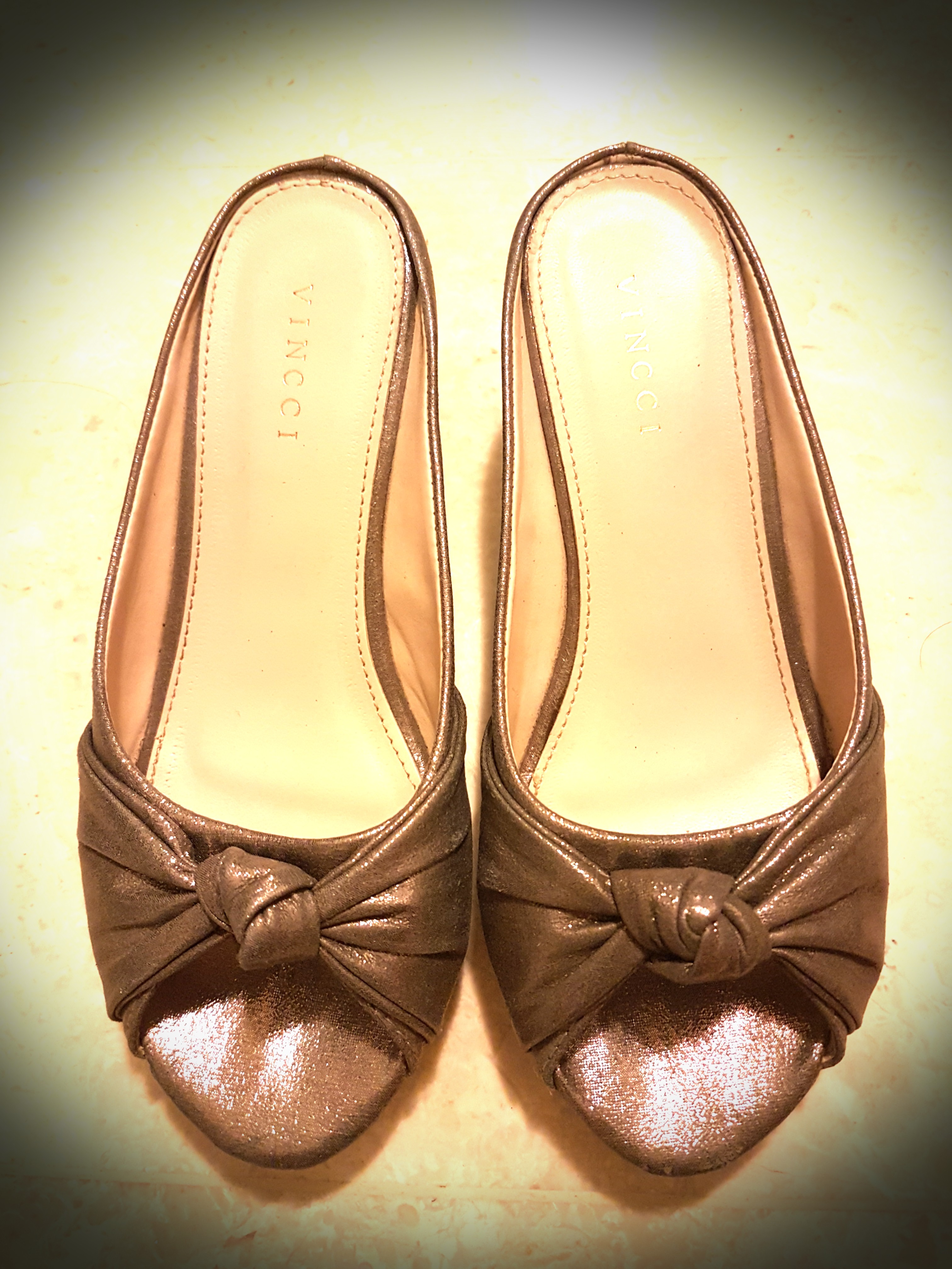 5a822fa6 Vincci Metallic Platform Shoes, Women's Fashion, Shoes, Heels on ...