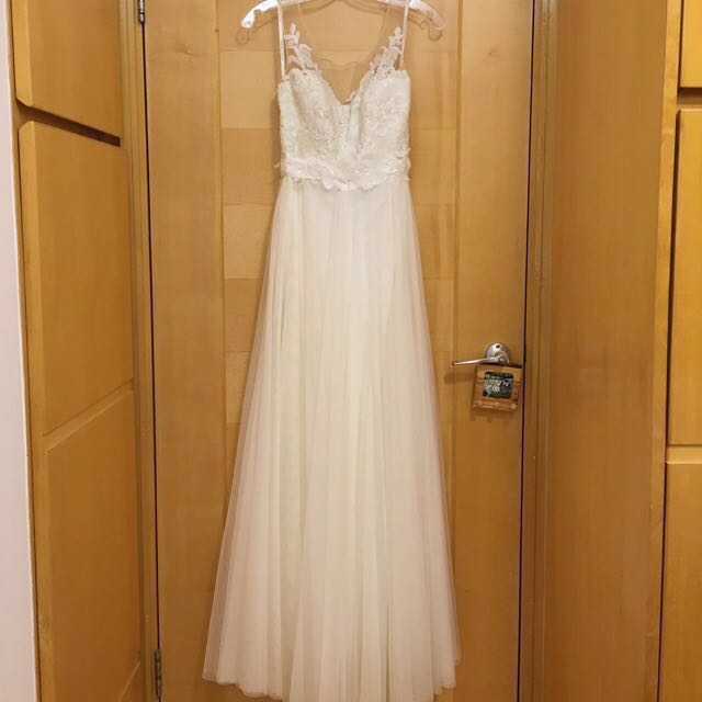 4af51787bb12 Watters Lucca Maxi in Ivory US Size 0 prewedding wedding dress 婚紗 ...