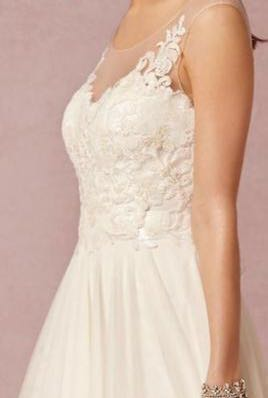 566012a3e189 Watters Lucca Maxi in Ivory US Size 0 prewedding wedding dress 婚紗結婚婚禮big  day