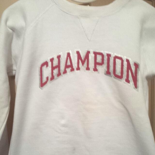 White Champion Jumper