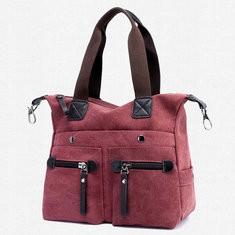Women Canvas Casual Tote Handbags