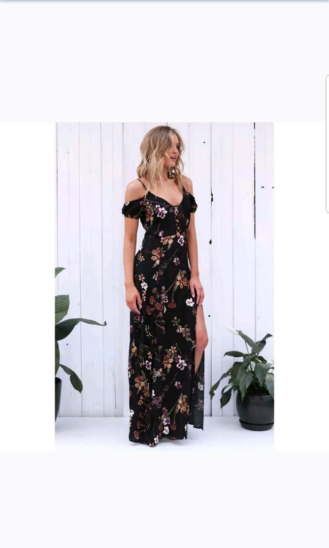 3593dca1f9c Women s Summer Vintage Boho Long Maxi Evening Party Beach Dress Floral  Sundress