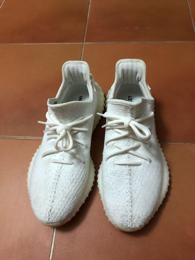 cf793b95a98 (WTS WTT) Yeezy Boost 350 V2 Cream White US 9