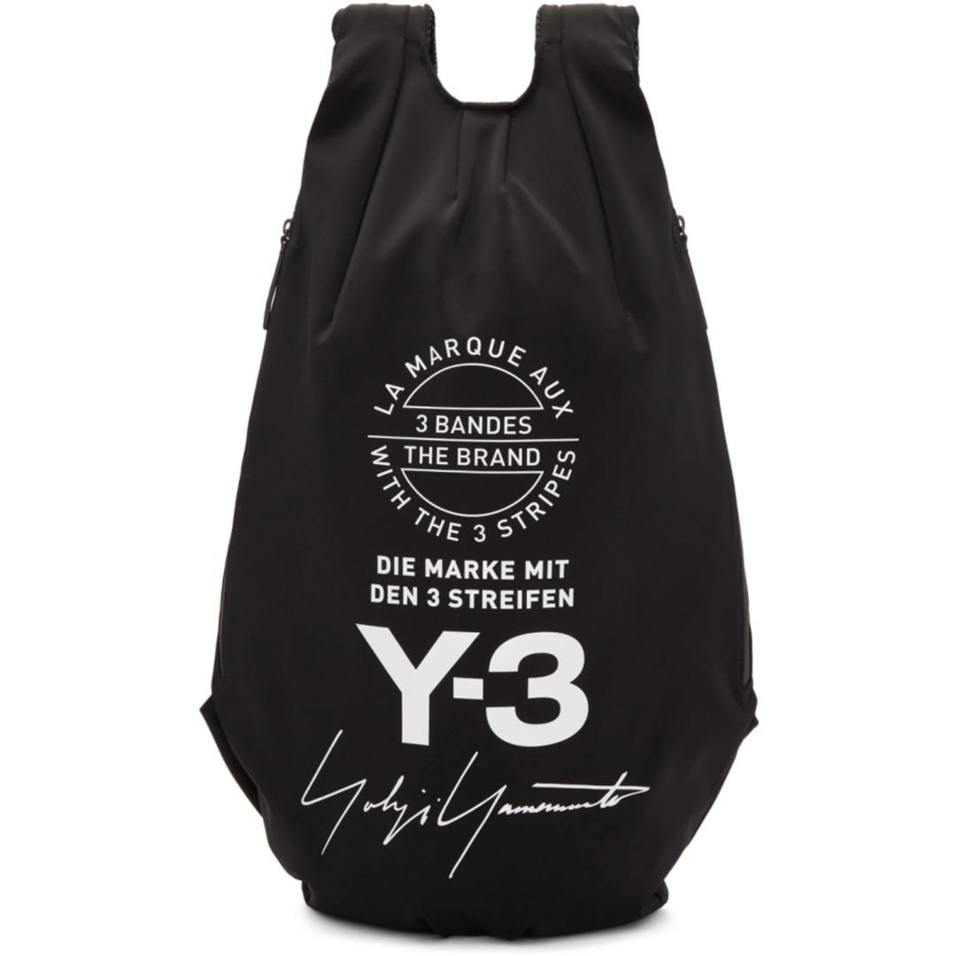 8136d495df4c Y3 Black Yohji Backpack