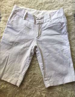 White Women Shorts