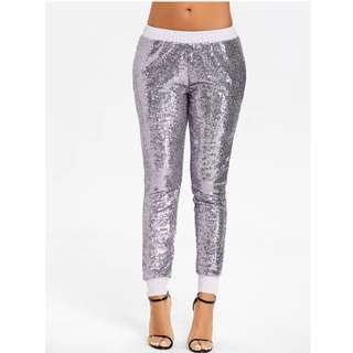 Glitter Sequence Jogger (Never been used)