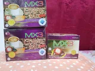 MX3 Capsule and Coffee