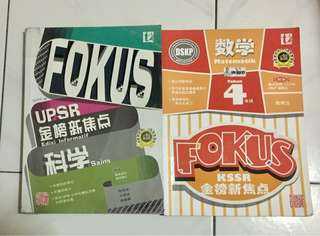 Focus UPSR Science and Maths