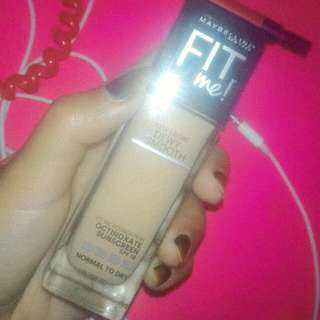 FIT ME FOUNDATION MAYBELLINE DEWY+SMOOTH 130 BUFF BEIGE