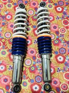 rear suspension 31cm