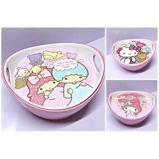 Little Twin Stars / Hello Kitty / My Melody OVAL BOWL