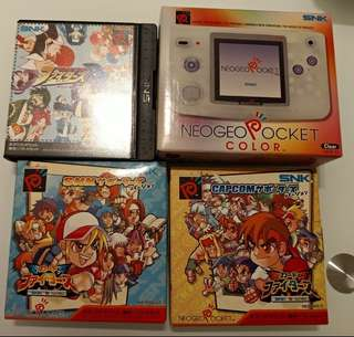 NGPC Neogeo Pocket Color 連 2game