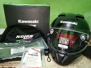 Helm Kawasaki Nolan N86