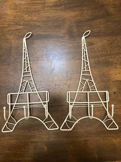 Eiffel Tower Wall Hook (Metal)