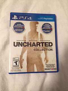 Uncharted Nathan Drake Collection for PS4
