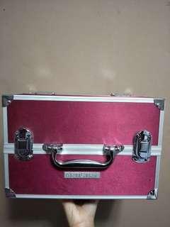 PINK MAKEUP ORGANIZER BOX