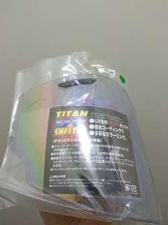 Light-smoke GREEN Arai Visor /Shield BNIP