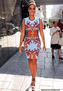 Authentic Givenchy Resort 2012 printed dress
