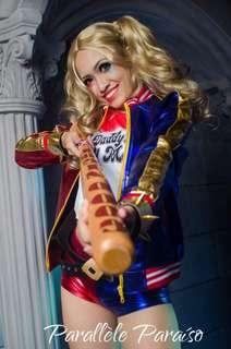 RENT Harley Quinn Cosplay Halloween Costume