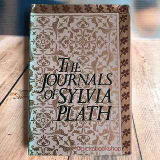 [RARE] The Journals of Sylvia Plath - Edited by Ted Hughes