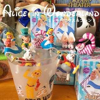 🚚 愛麗絲 杯緣子 杯緣 白兔 時間兔 妙妙貓 瘋帽客 牡蠣寶寶 公主 公仔 擺件 擺飾 茶友 盒玩 扭蛋 轉蛋