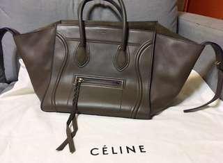 Celine phantom bag 拼藍邊