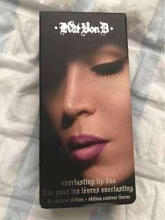 Kat Von D Liquid lipstick duo