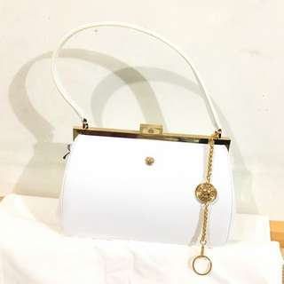 中古 Versace leather handbag vintage 太陽神款 手挽上膊款