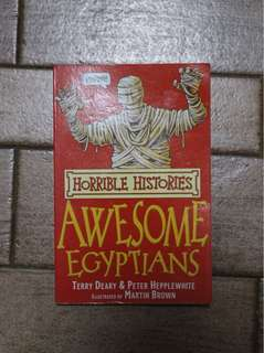 Horrible histories:awesome Egyptians