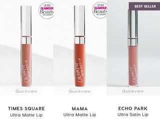 Colourpop Liquid Lipsticks (Ultra Satin & Matte Lip)