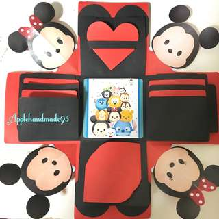 Explosion gift box (Mickey & Minnie)