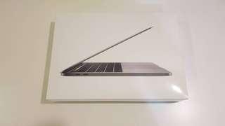 🚚 全新未拆 2017 13吋 頂規 Touch Bar版 Macbook Pro 16G/512G 太空灰 2018製