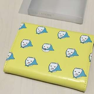 🚚 小白貓手拿包護照包零錢包證件包化妝包 #畢業一百元出清