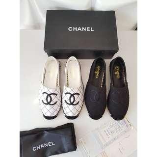 Sepatu Chanel Flat New Mirror Quality