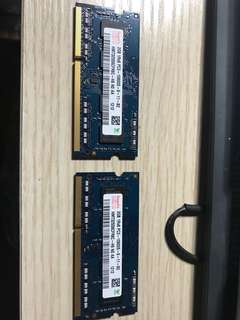 DDR3 2Gx2 1333 mac/notebook