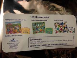 HKDL 香港迪士尼 花蛋系列野餐墊