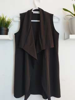 M boutique waterfall vest