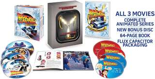 Back to the Future Trilogy The Complete Adventures Bluray Boxset