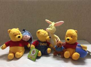 Winnie the Pooh and friends collectible items